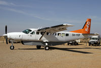 5H-YEP @ HTSN - Fly540 Caravan in the centre of safari country - by Duncan Kirk