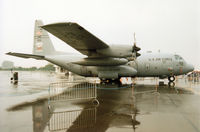91-1231 @ EGVA - C-130H Hercules, callsign Derby 94, of the Kentucky Air National Guard on display at the 1994 Intnl Air Tattoo at RAF Fairford. - by Peter Nicholson