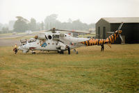 4011 @ EGVA - Mil-24V Hind of the Czech Air Force at the 1994 Intnl Air Tattoo at RAF Fairford. - by Peter Nicholson