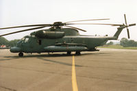 69-5795 @ EGVA - Another view of the MH-53M Pave Low IV of the 21st Special Operations Squadron at RAF Alconbury on display at the 1994 Intnl Air Tattoo at RAF Fairford. - by Peter Nicholson