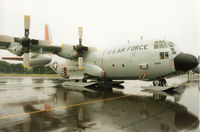 83-0490 @ EGVA - LC-130H Hercules, callsign Skier 40, of the New York Air National Guard on display at the 1994 Intnl Air Tattoo at RAF Fairford. - by Peter Nicholson