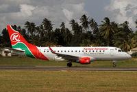 5Y-KYG @ HTZA - Latest Kenyan ERJ-170 - by Duncan Kirk