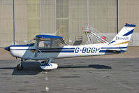 G-BGGP @ EGNX - 1979 Reims Aviation Sa REIMS CESSNA F152, c/n: 1580 now with Donair titles