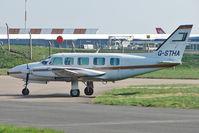 G-STHA @ EGNX - 1980 Piper PIPER PA-31-350, c/n: 31-8052077