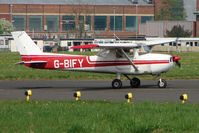 G-BIFY @ EGTC - 1972 Reims Aviation Sa CESSNA F150L, c/n: 0829