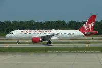 N835VA @ MCO - Virgin America's Airbus A320-214, c/n: 4448