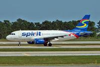 N504NK @ MCO - Spirit Airlines 2005 Airbus A319-132, c/n: 2473
