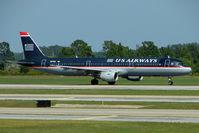N174US @ MCO - US Airways Airbus A321-211, c/n: 1492