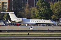XA-EAJ @ ATL - A distant view across the Atlanta runways for a Mexican Gulfstream Aerospace 5, c/n: 604