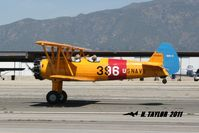 N5580M @ KCCB - Landing rollout at Cable - by Nick Taylor Photography