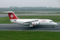HB-IXK @ EDDL - HB-IXK   BAe 146-RJ85 [E2235] (Swiss European Air Lines) Dusseldorf~D 27/05/2006