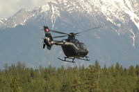 C-FJRX @ CYXC - EC 135 P2+ departing Canadian Rockies International Airport - by Larry Belzac