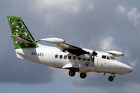 5H-AES @ HTZA - Nice shot of Air Excel LET 410 landing at Zanzibar - by Duncan Kirk