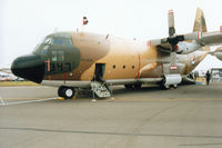 347 @ EGVA - C-130H Hercules of 3 Squadron Royal Jordanian Air Force on display at the 1994 Intnl Air Tattoo at RAF Fairford. - by Peter Nicholson