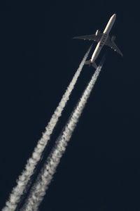 A7-BAE @ NONE - Qatar Airways B777-300 crusing high