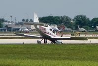 N190KT @ LAL - landing incident at 2011 Sun n Fun - Lakeland , Florida