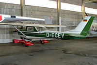 D-ECEV @ EDMA - R/Cessna F.150K [0585] Augsburg~D 20/04/2005 - by Ray Barber
