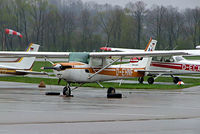 D-EHNF @ EDMA - R/Cessna F.152 [1584] Augsburg~D 20/04/2005 - by Ray Barber