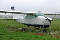 D-EFOO @ EDMA - Cessna T.210N Turbo Centurion [210-64296] Augsburg~D 20/04/2005 - by Ray Barber
