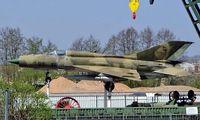 22 33 - Mikoyan MiG-21SPS Fishbed [94A5202] Sinsheim Museum~D 22/04/2005