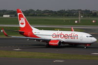 D-AHXB @ EDDL - Air Berlin, Boeing 737-7K5, CN: 30717/2228 - by Air-Micha