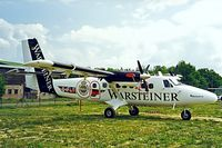 D-IFLY @ EDBF - DHC-6-300 Twin Otter [628] Warsteiner Ferbellin~D 18/05/1998 - by Ray Barber