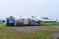 773 @ EGDY - ex Egyptian Navy Sea King Mk.47 on the fire dump at Yeovilton - by Chris Hall