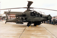 88-0236 @ MHZ - Another view of the 6/6th Cavalry AH-64A Apache on display at the 1995 RAF Mildenhall Air Fete. - by Peter Nicholson