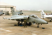 MM7131 @ EGVA - Another view of the RSV Flight Test Centre of the Italian Air Force's AMX on the flight-line at the 1994 Intnl Air Tattoo at RAF Fairford. - by Peter Nicholson