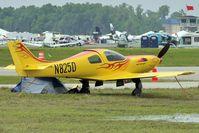 N825D @ LAL - 2011 Sun n Fun Lakeland , Florida