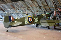 G-CCJL @ EGCB - 80% scale 2 seat replica Spitfire - by Chris Hall