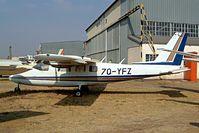 7Q-YFZ @ FALA - Partenavia P.68C-TC [277-19-TC] Lanseria~ZS 05/10/2003