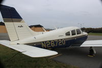 N2672Q @ KBLV - PA28-201R parked on the ramp - by D Abuya