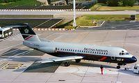 F-GDUV @ LFPO - Fokker F-28-2000 Fellowship [11109] (TAT/British Airways) Paris-Orly 16/06/1997