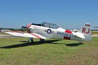 N98RJ @ LAL - 1944 North American SNJ-5C, Bu 90752 , ex 42-86179 , Construction Number  88-17960  , at 2011 Sun n Fun - Lakeland , Florida