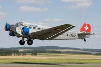 HB-HOT @ LOAB - JU Air JU52 - by Andy Graf-VAP