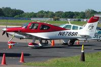 N878SR @ TPA - 2007 Cirrus Design Corp SR22, c/n: 2778 at Tampa
