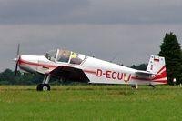D-ECUW @ EGBP - Wassmer Jodel D.120R Paris-Nice [157] Kemble~G 02/07/2005 - by Ray Barber