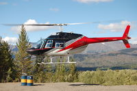 C-FHMO - 2010 Photo flying under DueNorth Helicopters Inc. in the Cassiar region of BC, Canada - by Clint Walker