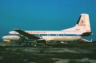 N219P @ LMML - YS11 N219P Pyramid Airlines