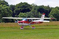 G-BRTD @ EGHP - Cessna 152 [152-80023] Popham~G 29/06/2008 - by Ray Barber