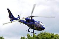 G-UZEL @ EGHP - Aerospatiale SA.341G Gazelle [1413] Popham~G 29/06/2008