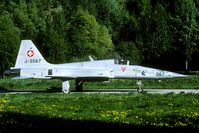 J-3067 @ LSMJ - evening mission during the 1999 Wiederholungskurs.