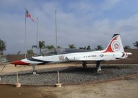 60-0593 - Northrop T-38A Talon - painted to represent an aircraft used by the Thunderbirds - at the March Field Air Museum, Riverside CA - by Ingo Warnecke