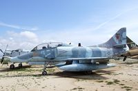 154342 - Douglas TA-4F Skyhawk at the March Field Air Museum, Riverside CA - by Ingo Warnecke