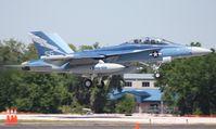 166899 @ LAL - EA-18G Growler in retro colors