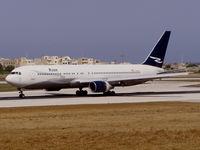 N120DL @ LMML - B767 N120DL Ryan International Airlines - by raymond