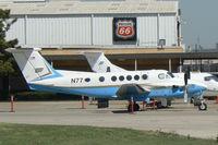 N77 @ FTW - FAA King Air at Meacham Field - Fort Worth, TX