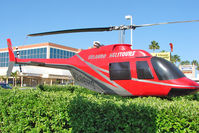 N206HS - Used for advertising Helicopter flights in Kissimmee