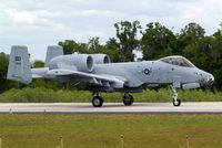 78-0582 @ KLAL - Fairchild A-10A Thunderbolt II [202] USAF Lakeland-Linder~N 16/04/2010 - by Ray Barber